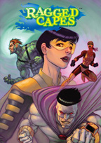 Cover art, Ragged Capes #1